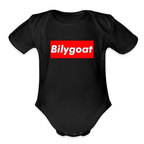 BILYGOAT DESIGNER - Organic Short Sleeve Baby Bodysuit