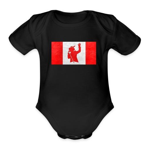 gord downie - Organic Short Sleeve Baby Bodysuit