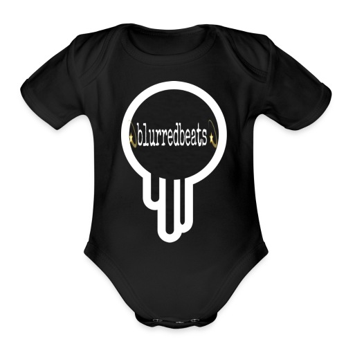 Blurred - Organic Short Sleeve Baby Bodysuit