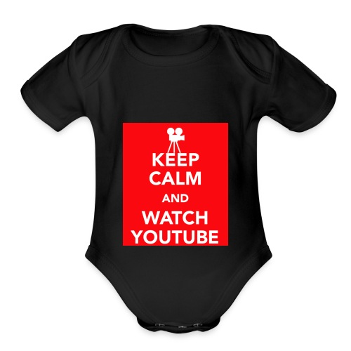 Youtube!!! - Organic Short Sleeve Baby Bodysuit