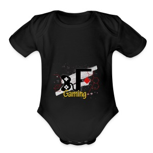 LOGO OFICIAL FacuGaming - Short Sleeve Baby Bodysuit