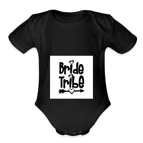 bride2 - Organic Short Sleeve Baby Bodysuit