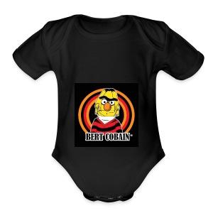 Bert Kobain - Short Sleeve Baby Bodysuit