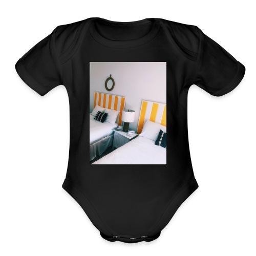 Motel - Organic Short Sleeve Baby Bodysuit