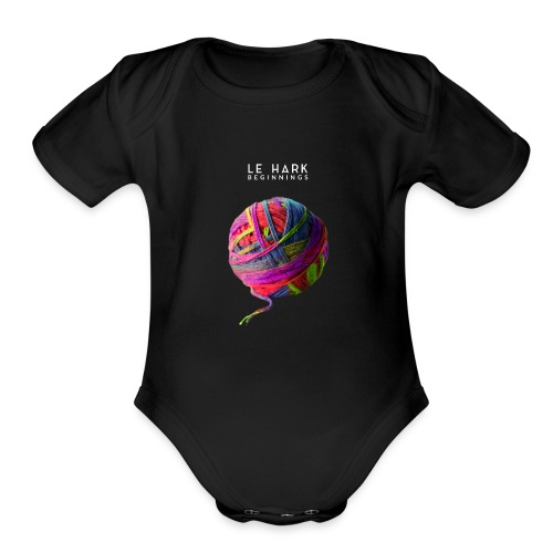 Album Art Le Hark Beginnings - Organic Short Sleeve Baby Bodysuit