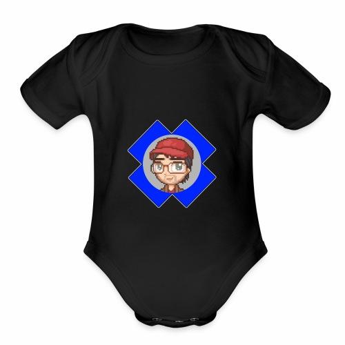 StratX Basic - Organic Short Sleeve Baby Bodysuit