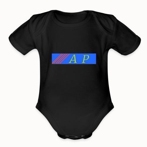 AP - Organic Short Sleeve Baby Bodysuit
