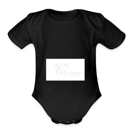 yung baljeet - Organic Short Sleeve Baby Bodysuit