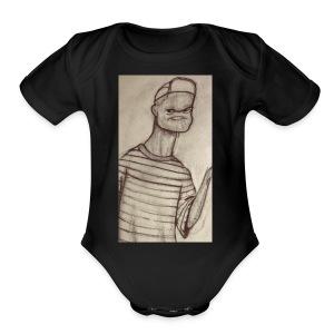 HOLY CHubaKabra - Short Sleeve Baby Bodysuit