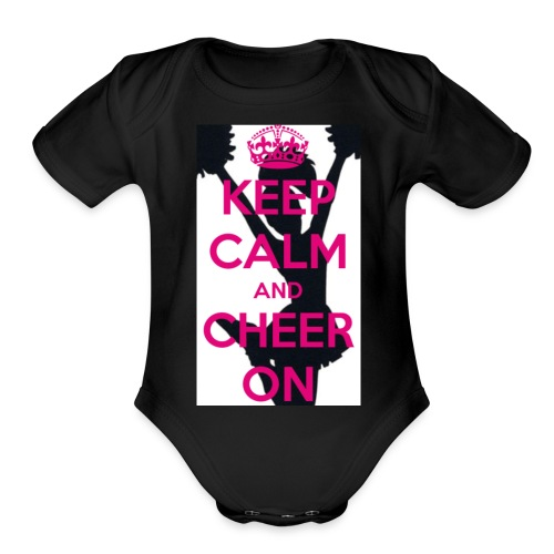 Cheer it - Organic Short Sleeve Baby Bodysuit