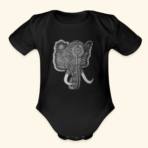 The Memory - Organic Short Sleeve Baby Bodysuit