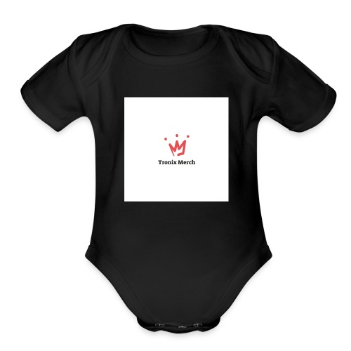 Mens Long sleeve Tronix Shirt - Organic Short Sleeve Baby Bodysuit