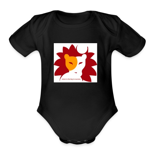 Vision - Organic Short Sleeve Baby Bodysuit