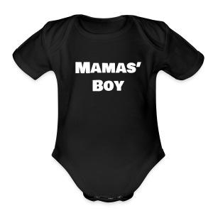 Mamas' Boy - Short Sleeve Baby Bodysuit