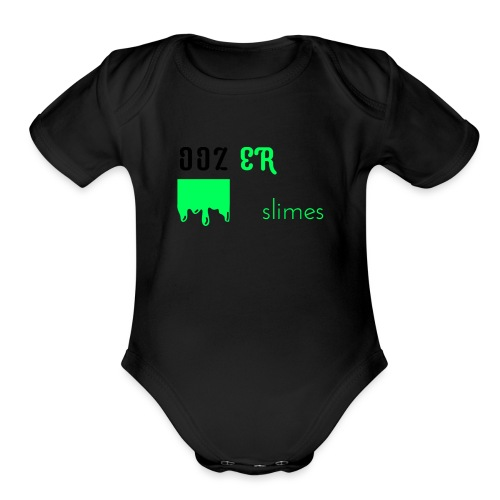 OOZER slimes - Organic Short Sleeve Baby Bodysuit