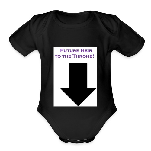 Heir - Organic Short Sleeve Baby Bodysuit
