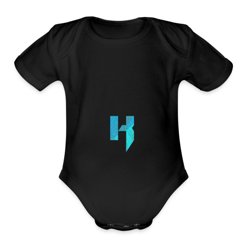 YouTube Channel Logo - Organic Short Sleeve Baby Bodysuit