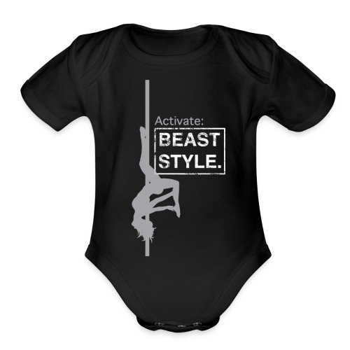 Activate: Beast Style - Organic Short Sleeve Baby Bodysuit