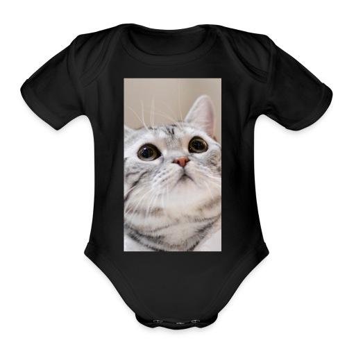 7E35D856 68EB 4BCE AF68 B78A7003366F - Organic Short Sleeve Baby Bodysuit