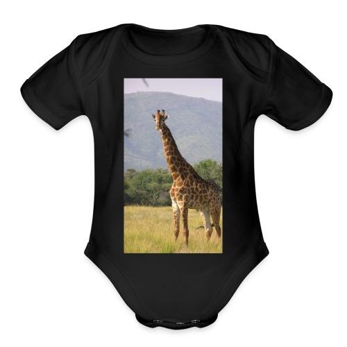 Girrafe - Organic Short Sleeve Baby Bodysuit