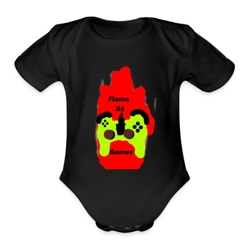 Merch Competition 2017 (Second Place Dom. Doggy) - Organic Short Sleeve Baby Bodysuit