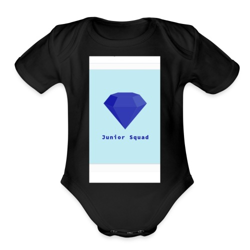 Juniors squad - Organic Short Sleeve Baby Bodysuit