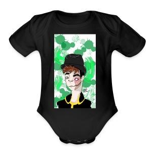 Deceit Sanders - Short Sleeve Baby Bodysuit