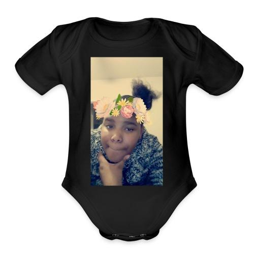 Valencia - Organic Short Sleeve Baby Bodysuit