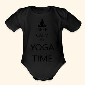 YOGA - Short Sleeve Baby Bodysuit