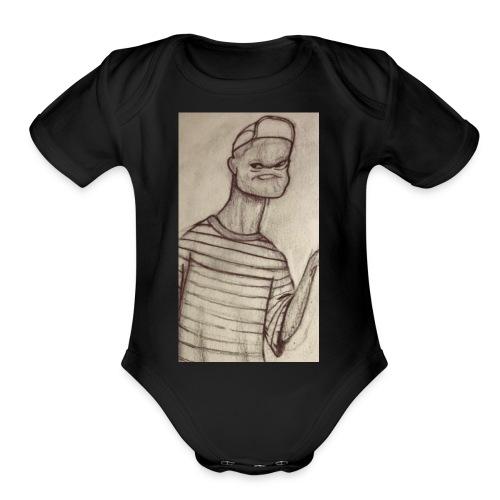 HOLY CHubaKabra - Organic Short Sleeve Baby Bodysuit