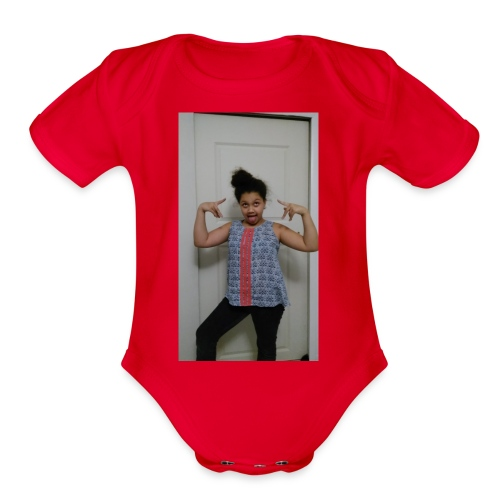 Winter merchandise - Organic Short Sleeve Baby Bodysuit