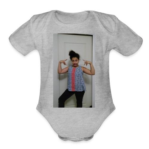 Winter merchandise - Organic Short Sleeve Baby Bodysuit