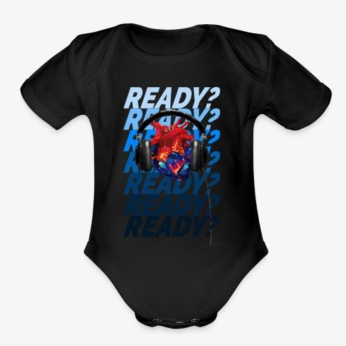 READY Heart - Organic Short Sleeve Baby Bodysuit
