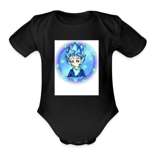 IMG 2383 - Organic Short Sleeve Baby Bodysuit