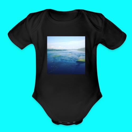 Island - Organic Short Sleeve Baby Bodysuit