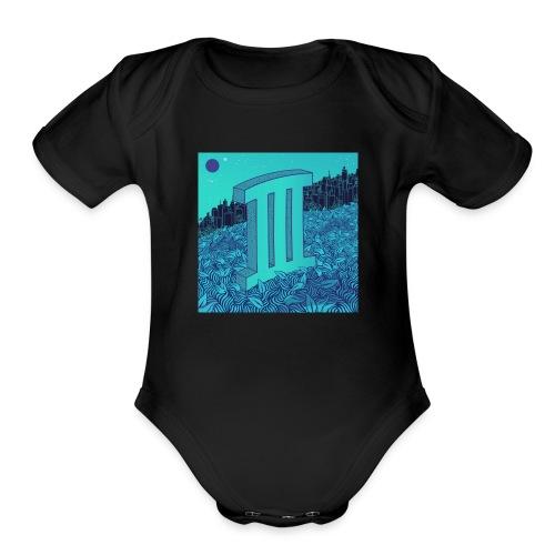 Currensy PilotTalk3 Artwork - Organic Short Sleeve Baby Bodysuit