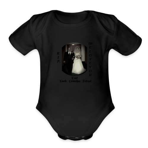 Grandpa Burns - Organic Short Sleeve Baby Bodysuit