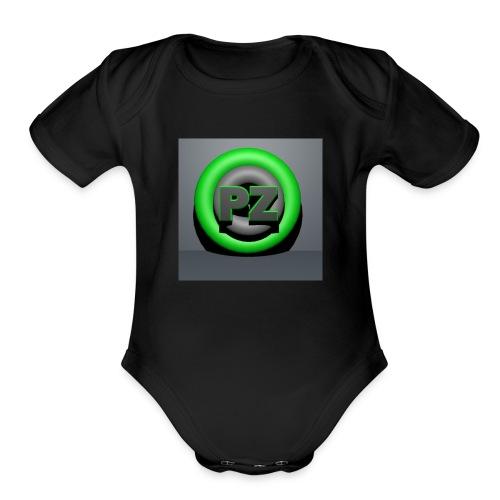 Pandzyz - Organic Short Sleeve Baby Bodysuit