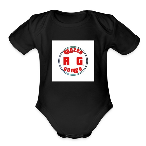 RayZerGamer mouse pad - Organic Short Sleeve Baby Bodysuit