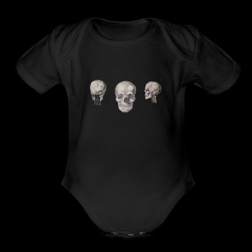 3skulls - Organic Short Sleeve Baby Bodysuit