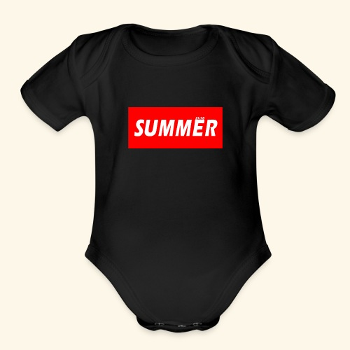 Summer 2k18 - Organic Short Sleeve Baby Bodysuit