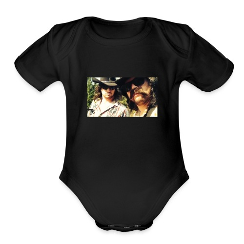 Jaw Thrust Cover Art - Organic Short Sleeve Baby Bodysuit