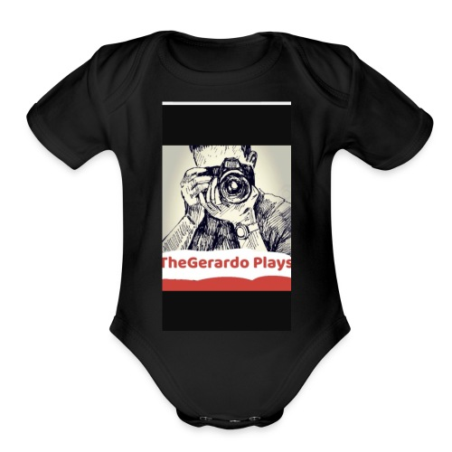 TheGerardoPlays - Organic Short Sleeve Baby Bodysuit