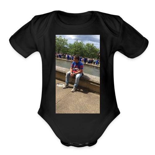 IMG 1761 - Organic Short Sleeve Baby Bodysuit