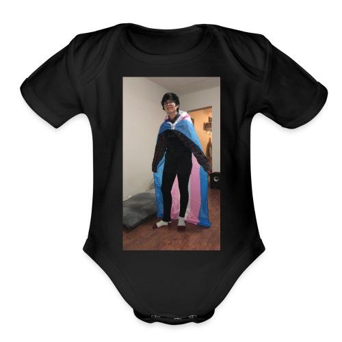 blakes merch - Organic Short Sleeve Baby Bodysuit
