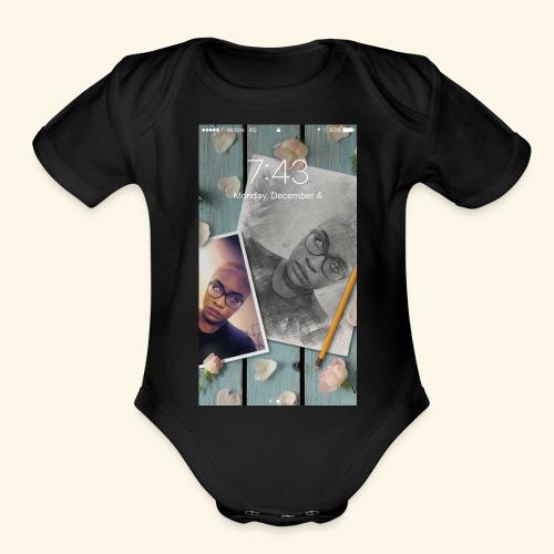 IMG 0546 - Organic Short Sleeve Baby Bodysuit