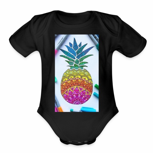 Kainat's outlet - Organic Short Sleeve Baby Bodysuit