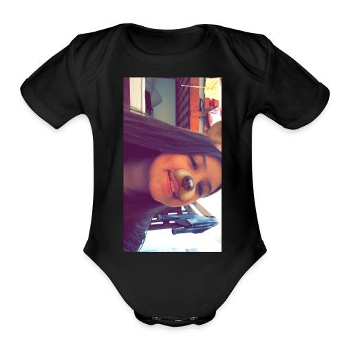 Jazlin krystal Miranda - Organic Short Sleeve Baby Bodysuit