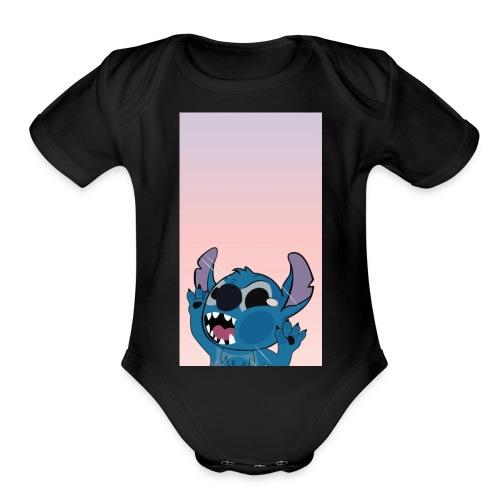 Image 664614 1512929470 - Organic Short Sleeve Baby Bodysuit