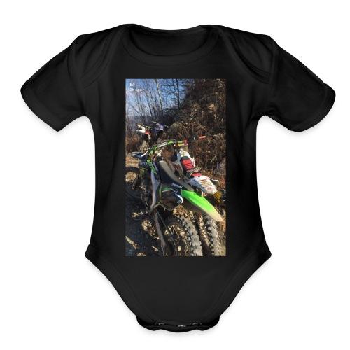 Motogaming - Organic Short Sleeve Baby Bodysuit